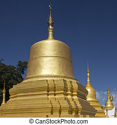 Stupa of Pindaya Temple - Myanmar
