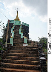 Stupa on the rock