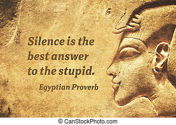 stupid answer EP - Silence is the best answer to the stupid...