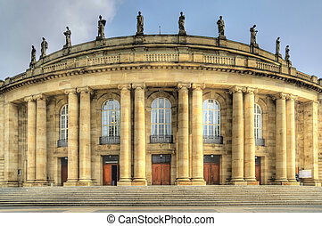 Stuttgart - Opera house in Stuttgart / Germany