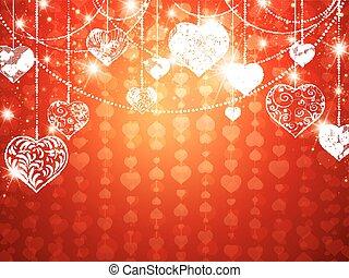 St.valentine and Wedding Holiday Background