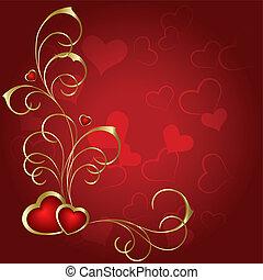 st.valentine, coeur