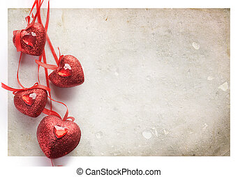 St.Valentine's Card. Vintage Styled