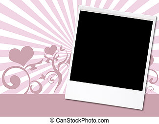 St.Valentine\\\'s day theme,just place your design