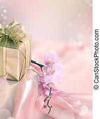 st.valentine's, jour, cadeau