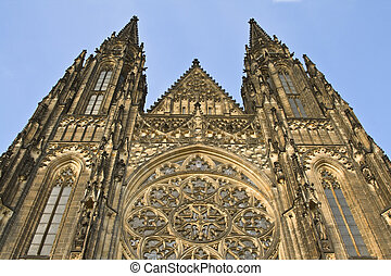 St.Vitus Cathedral-Prague Castle