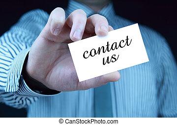 styk, -, business card, nám