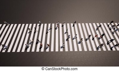 styl życia, ulica., handel, jam., zajęty, design., przejście...