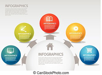 styl, sprea, kula, -, info-graphic