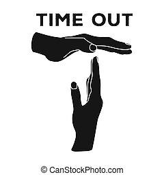 styl, symbol, web., out.basketball, ilustracja, jednorazowy,...