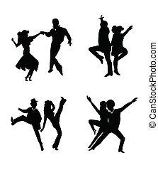 styl, tancerze, dyskoteka