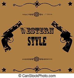 styl, western