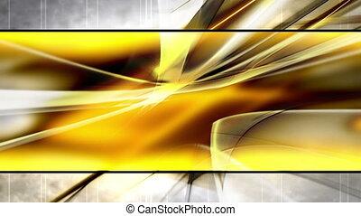 styl, złoty, szablon, pętla
