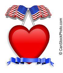style, amour, américain