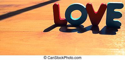 style, amour, plancher, bois, laminate, ombre, 8, mot, ombre
