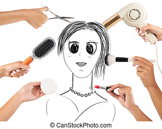 Style and makeup