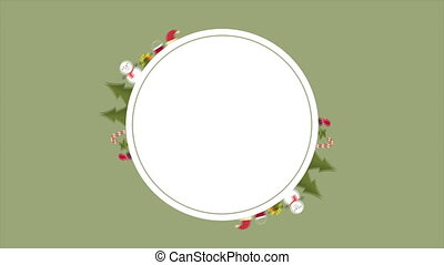 Style background for Christmas footage