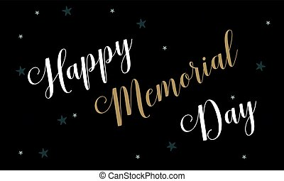 Style background of memorial day collection