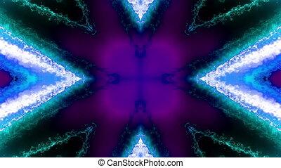 style, bleu, boucle, vj, écoulement, électrique