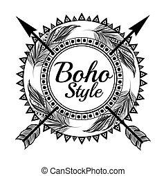 style, boho, conception