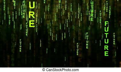 style, concept, texte, avenir, internet