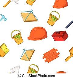 style, construction, dessin animé, modèle