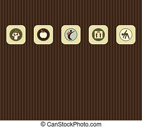 style de vie, divers, symboles