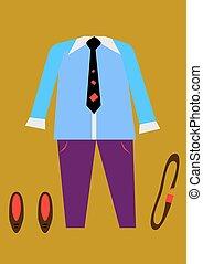style, hommes, habillement