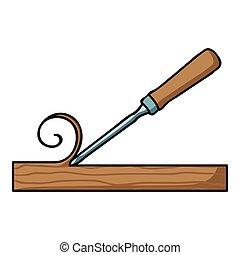 style illustration ic ne symbole ciseau isol. Black Bedroom Furniture Sets. Home Design Ideas