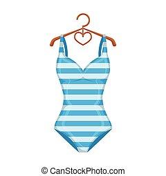 Toile style illustration symbole clair maillot de clipart vectoriel rechercher - Dessin de maillot de bain ...