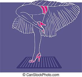 style, jambes, marilyn monroe
