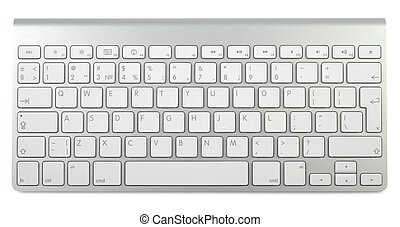 Style Metallic Keyboard - Wireless metallic keyboard ...