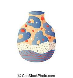 style, mode, coloré, classique, moderne, vase, maison
