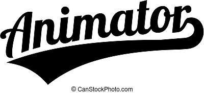 style, mot, retro, animator