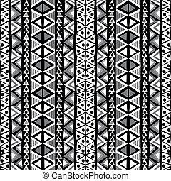 style, motifs, griffonnage, arrière-plan noir, ethnique, blanc