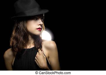style, noir, grimer, retro, pellicule