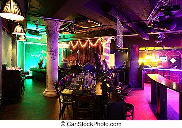 style, nuit, européen, club, moderne