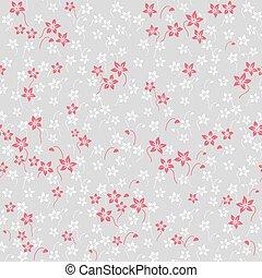style, papier peint, pattern., seamless, baroque., floral