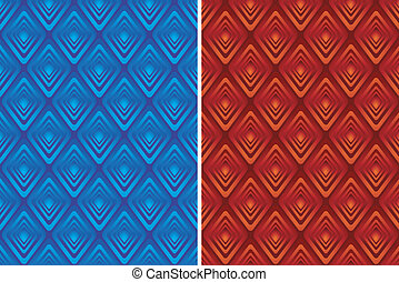 Style Pattern Background - Red or blue texture - Vector ...