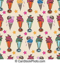 style, reprise, illustration., sundea, dessert-sweet,...