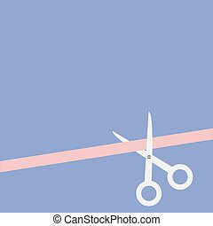 style., right., color diseño, tijeras, serenidad, derecho, ...
