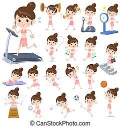 style, swimwear, exercice, maman