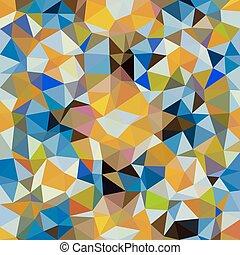 style, triangle, kaléidoscopique, poly, vecteur, bas, fond, ...