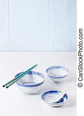 style, vaisselle, asiatique