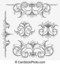 style victorien, décorations