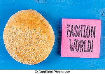 styles, mode, business, photo, projection, écriture, note, appearance., showcasing, mondiale, habillement, implique, world.