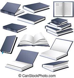 styles, positions, différent, livres