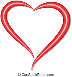 stylised heart