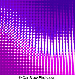 Stylish abstract glowing background