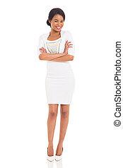 stylish african American woman